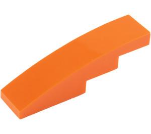 LEGO Orange Slope 1 x 4 Curved (11153 / 61678)
