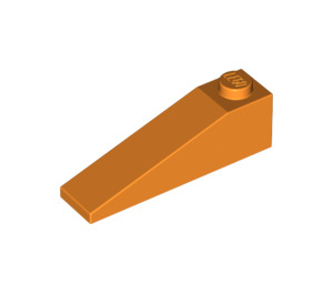 LEGO Orange Slope 1 x 4 x 1 (18°) (60477)