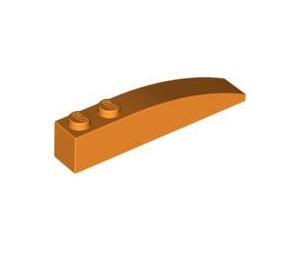 LEGO Orange Slope 1 x 6 Curved (42022)