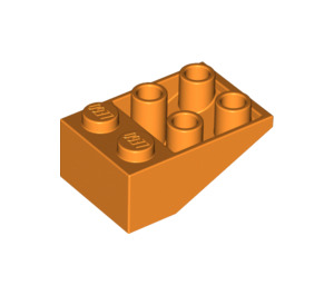 LEGO Orange Slope 2 x 3 (25°) Inverted without Connections between Studs (3747)