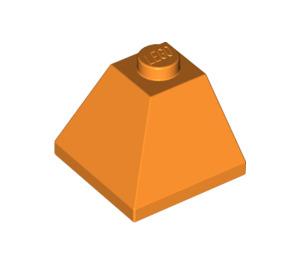LEGO Orange Slope 45° 2 x 2 (3045)