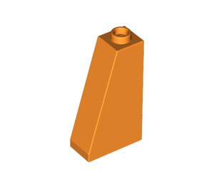 LEGO Orange Slope 75 2 x 1 x 3 with Completely Open Stud (4460)