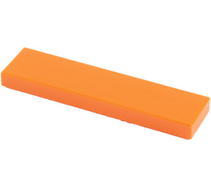 LEGO Orange Tile 1 x 4 (2431)