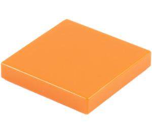 LEGO Orange Tile 2 x 2 with Groove (3068)