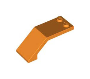 LEGO Orange Windscreen 5 x 2 x 1 & 2/3 (6070)