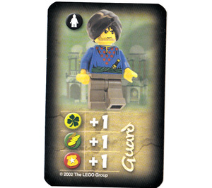 LEGO Orient Card Expedition Card - Guard