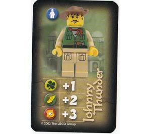 LEGO Orient Card Expedition Card - Johnny Thunder