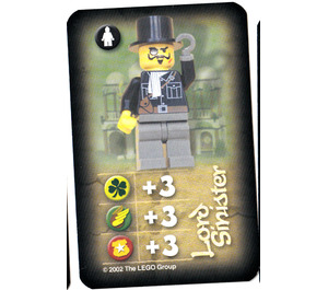 LEGO Orient Card Expedition Card - Lord Sinister