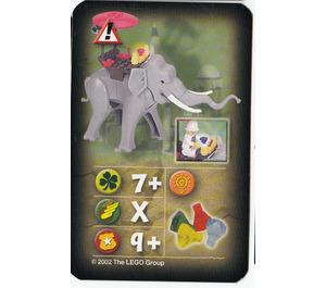 LEGO Orient Card Hazards - Elephant