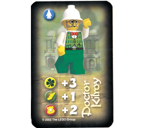 LEGO Orient Expedition Card Heroes - Dr. Kilroy