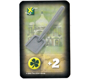 LEGO Orient Expedition Card Items - Shovel