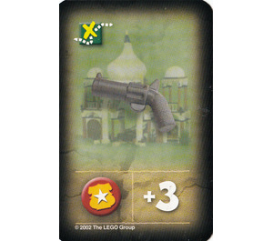 LEGO Orient Expedition Game Card- Pistol (India)