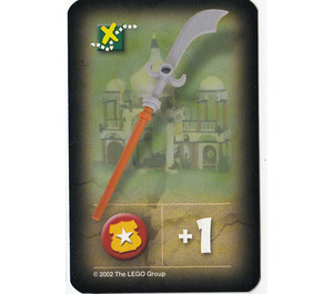 LEGO Orient Expedition Game Card- Polearm