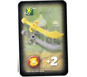 LEGO Orient Expedition Game Card- Scimitars