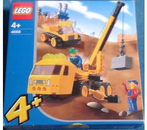 LEGO Outrigger Construction Crane Set 4668 Packaging
