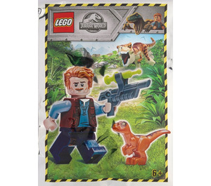 LEGO Owen with Baby Raptor Set 121904