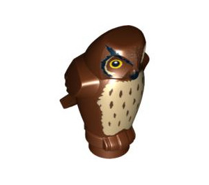 LEGO Owl with Spotted Chest with Angular Features (92084 / 92648)