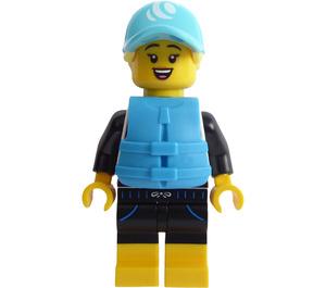 LEGO Paddle Surfer Minifigure