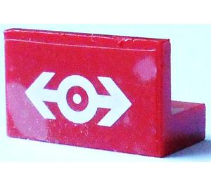 LEGO Panel 1 x 2 x 1 with Sticker (4865)