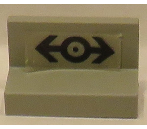 LEGO Panel 1 x 2 x 1 with Sticker from Set 4564 (4865)