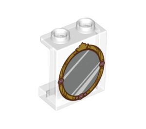 LEGO Panel 1 x 2 x 2 with Mirror with Side Supports, Hollow Studs (6268 / 60996)