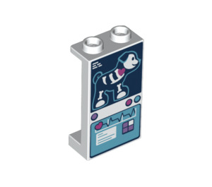 LEGO Panel 1 x 2 x 3 with Decoration with Side Supports - Hollow Studs (35340 / 49314)