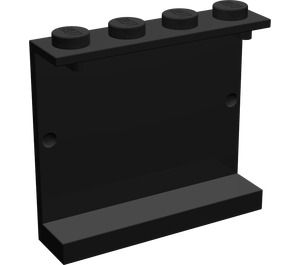 LEGO Panel 1 x 4 x 3 without Side Supports, Solid Studs (4215)