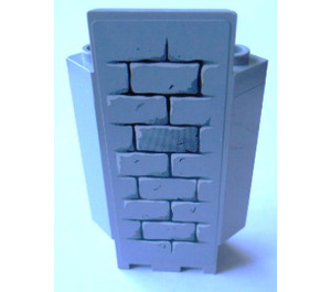 LEGO Panel Wall 3 x 3 x 6 Corner with Sticker from Set 8813 and 8823 with Bottom Indentations (2345)