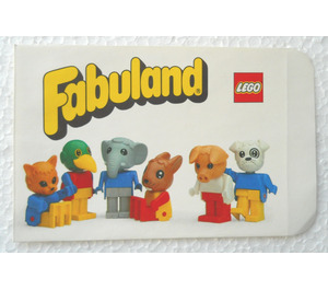 LEGO Paper bag for Fabuland figure (199240)