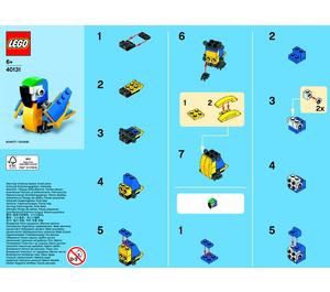 LEGO Parrot Set 40131-1 Instructions