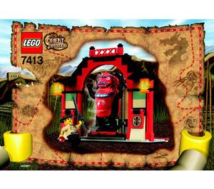 LEGO Passage of Jun-Chi Set 7413 Instructions
