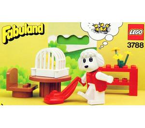 LEGO Paulette Poodles' Living Room Set 3788