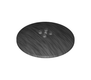 LEGO Pearl Dark Gray Dish 8 x 8 Inverted (3961)