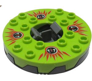 LEGO Pearl Dark Gray Spinner Ø47.79 Gen 2 (98354)