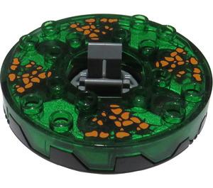 LEGO Pearl Dark Gray Spinner Ø47.79 Gen. (98354)