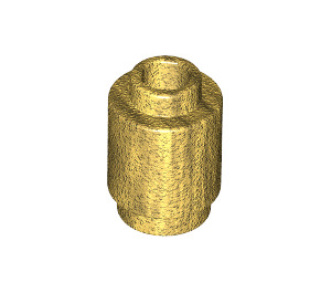 LEGO Pearl Gold Brick Round 1 x 1 with Open Stud (3062)