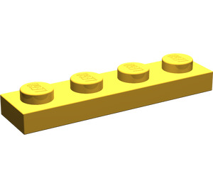 LEGO Pearl Gold Plate 1 x 4 (3710)