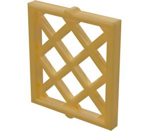 LEGO Pearl Gold Window Shutter Lattice 1 x 2 x 2 (38320)