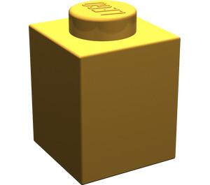 LEGO Pearl Light Gold Brick 1 x 1 (3005)