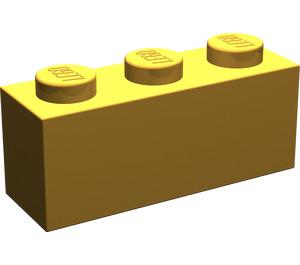 LEGO Pearl Light Gold Brick 1 x 3 (3622)