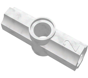 LEGO Pearl Light Gray Angle Connector #2 (180º) (32034)