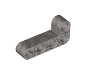 LEGO Pearl Light Gray Beam 2 x 4 Bent 90 Degrees, 2 and 4 holes (32140)