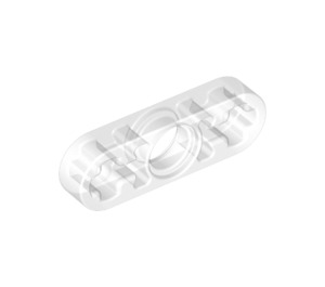 LEGO Pearl Light Gray Beam 3 x 0.5 with Axle Hole each end (6632)