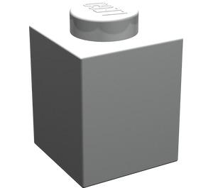 LEGO Pearl Light Gray Brick 1 x 1 (3005)