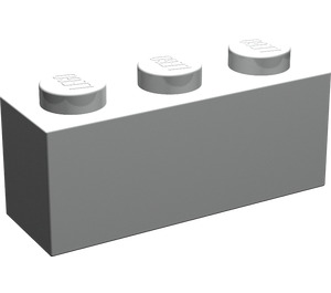 LEGO Pearl Light Gray Brick 1 x 3 (3622)