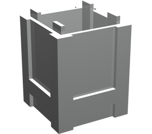 LEGO Pearl Light Gray Container 2 x 2 x 2 Crate
