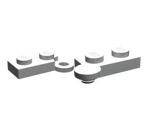 LEGO Pearl Light Gray Hinge Plate 1 x 4