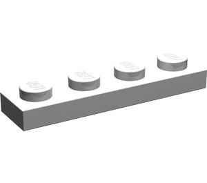 LEGO Pearl Light Gray Plate 1 x 4 (3710)