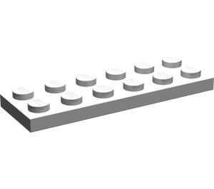 LEGO Pearl Light Gray Plate 2 x 6 (3795)