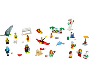 LEGO People Pack - Fun at the Beach Set 60153